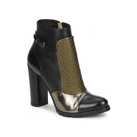 Etro FEDRA women's Low Ankle Boots in Black