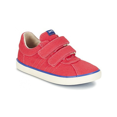 Camper PURSUIT KIDS girls's Children's Shoes (Trainers) in Red