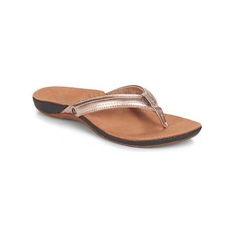 Reef MISS J BAY women's Flip flops / Sandals (Shoes) in Gold