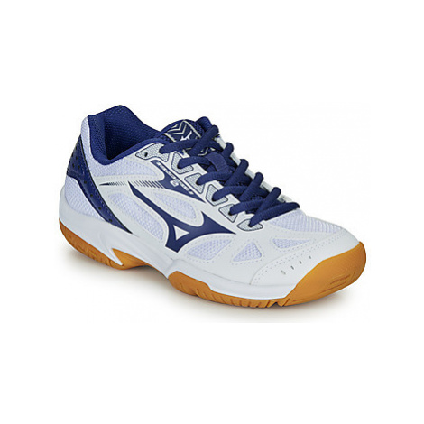 Mizuno CYCLONE SPEED 2 JR girls's Children's Indoor Sports Trainers (Shoes) in White