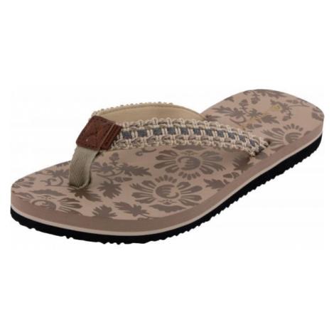 ALPINE PRO JOSA beige - Women's summer shoes