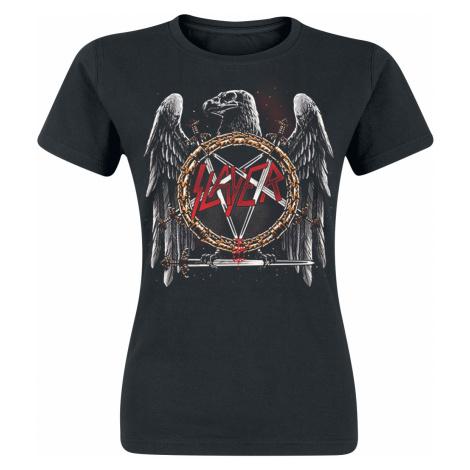 Slayer - Eagle Skull - Girls shirt - black