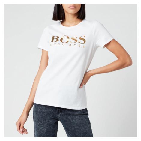 BOSS Hugo Boss Women's Elogo T-Shirt - White