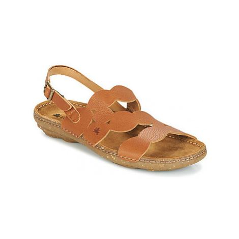 El Naturalista TORCAL women's Sandals in Brown