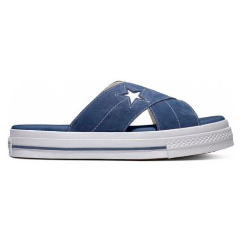 Converse ONE STAR SANDAL dark blue - Women's slippers