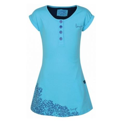 Loap INDRA blue - Girls' dress