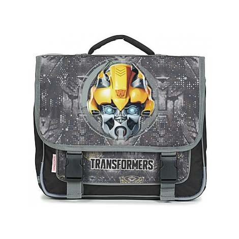 Dessins Animés TRANSFORMERS CARTABLE 38CM boys's Briefcase in Black