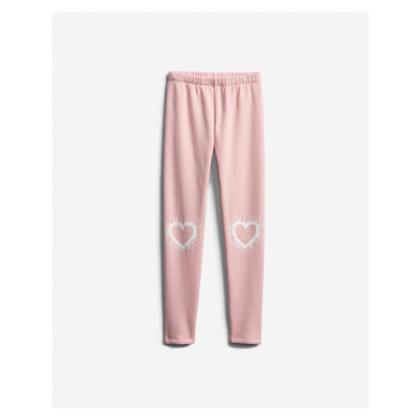 GAP Kids Leggings Pink Beige