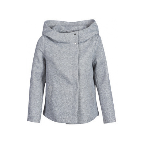 Only ONLMADDIE women's Coat in Grey