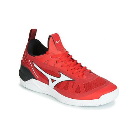 Mizuno WAVE LUMINOUS men's Indoor Sports Trainers (Shoes) in Red