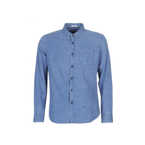 Pepe jeans WILLIAM men's Long sleeved Shirt in Blue