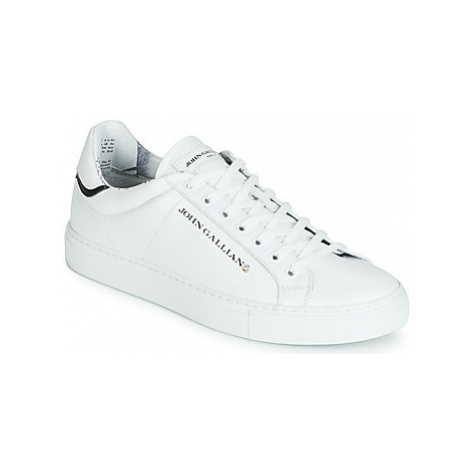 John Galliano 6723 men's Shoes (Trainers) in White