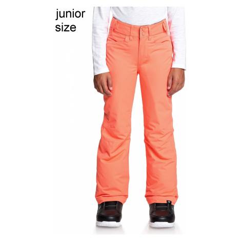 pants Roxy Backyard - MJL0/Living Coral - girl´s