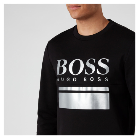 BOSS Men's Salbo 1 Sweatshirt - Charcoal Hugo Boss
