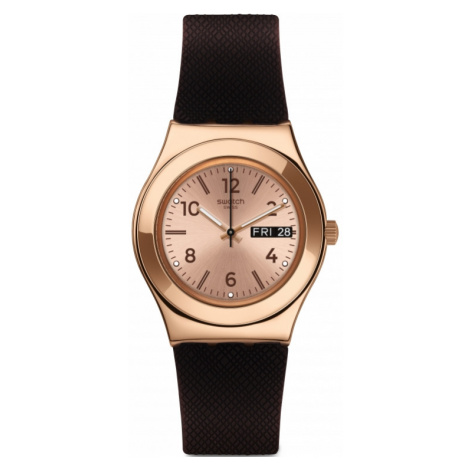 Swatch Brownee Watch YLG701