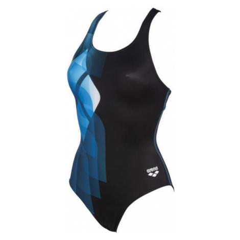 Arena MIRRORS SWIM PRO BACK ONE PIECE LB blue - Women's one-piece swimsuit
