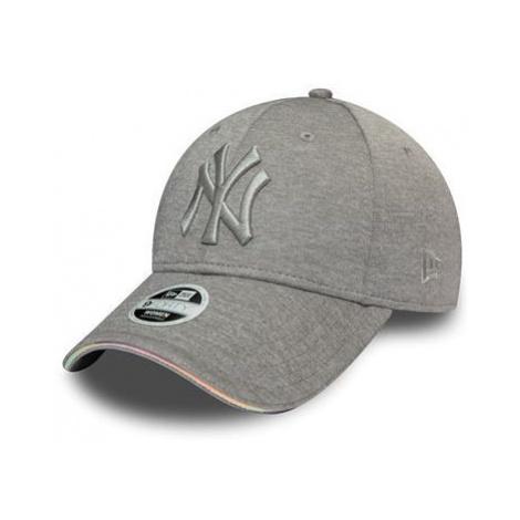 New Era 9FORTY IRIDESCENT NEW YORK YANKEES grey - Women's baseball cap