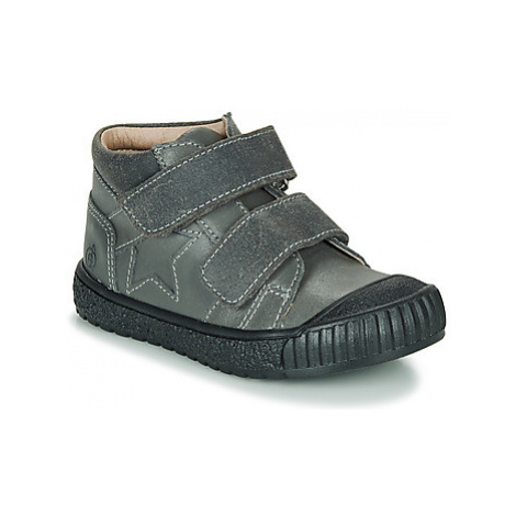 Citrouille et Compagnie RADISTA girls's Children's Mid Boots in Grey