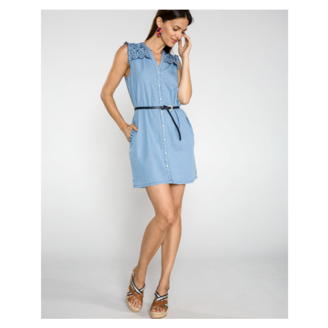Pepe Jeans Lura Dress Blue