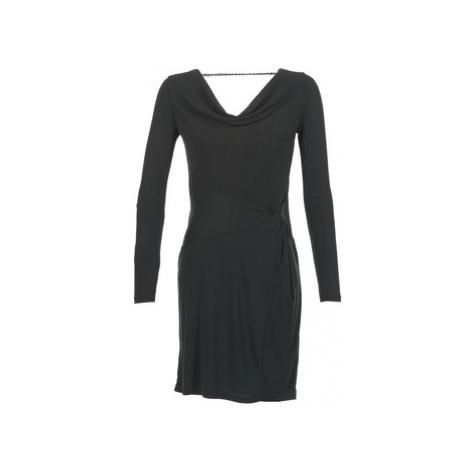 Cream SILJE DRESS women's Dress in Black