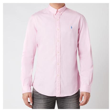 Pink men's elegant shirts