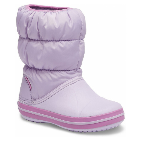 shoes Crocs Winter Puff Boot - Lavender - girl´s