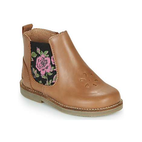 Aster SECILE girls's Children's Mid Boots in Brown