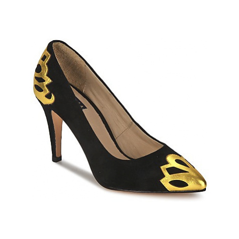 C.Petula SNOWFLAKE women's Court Shoes in Black