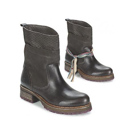 Felmini CLARA women's Mid Boots in Brown