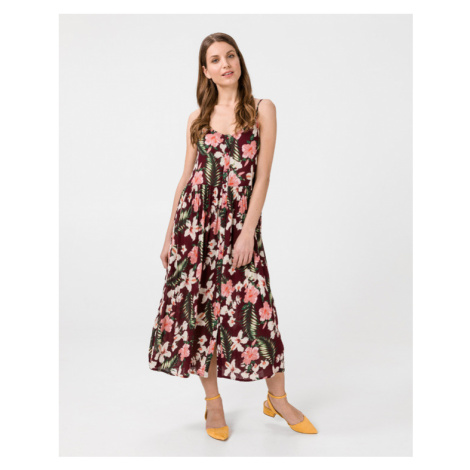 Vero Moda Morning Dress Red Colorful