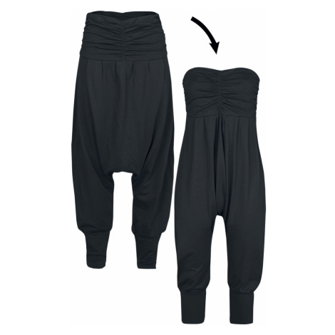 RED by EMP 2 in 1: Harem Trousers and Jumpsuit Cloth Trousers black