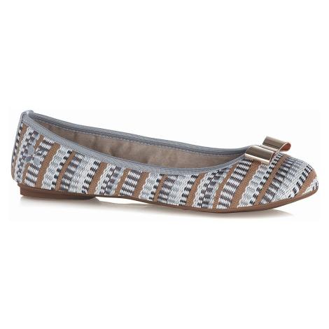 shoes Butterfly Twists Chloe - Dove Gray Basketweave