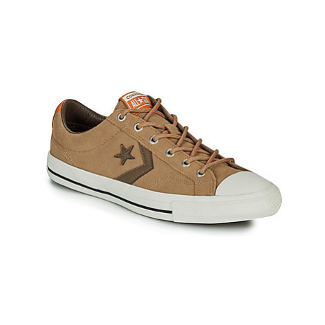 Converse STAR PLAYER OX men's Shoes (Trainers) in Brown