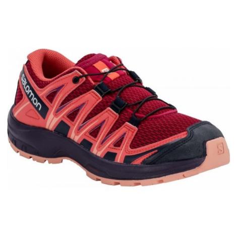 Salomon XA PRO 3D J red - Kids' running shoes
