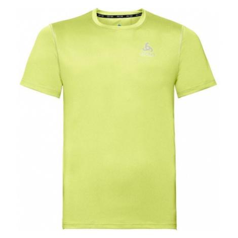 Odlo T-SHIRT S/S CREW NECK CERAMICOOL ELEMENT green - Men's short sleeve T-shirt