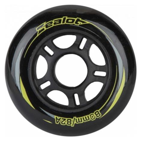 Zealot 80-82A WHEELS 4PACK black - Inline wheels