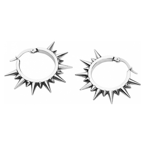 Wildcat - Spiked Silver - Earring set - silver-coloured