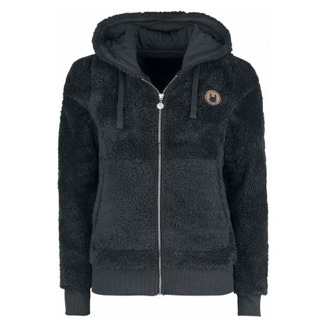 EMP - Freaking Out Loud - Girls hooded zip - black