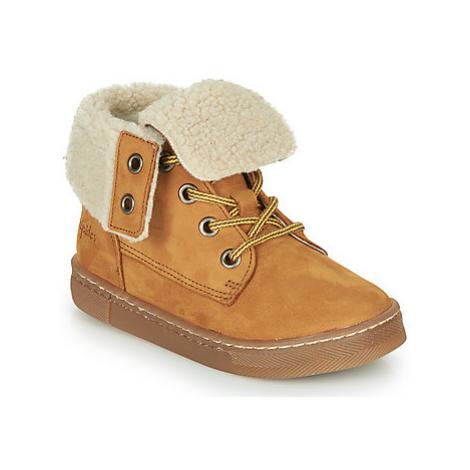 Babybotte KARASJOKFL boys's Children's Mid Boots in Brown