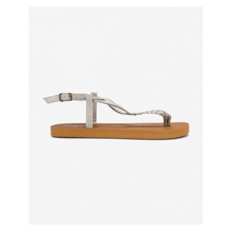 O'Neill Sandals Brown Silver