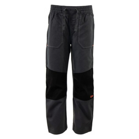 ALPINE PRO RAFIKO 3 gray - Boys' outdoor trousers
