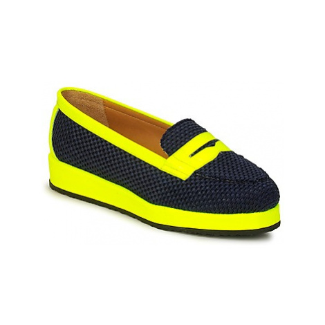 MySuelly VALENTINE women's Loafers / Casual Shoes in Yellow