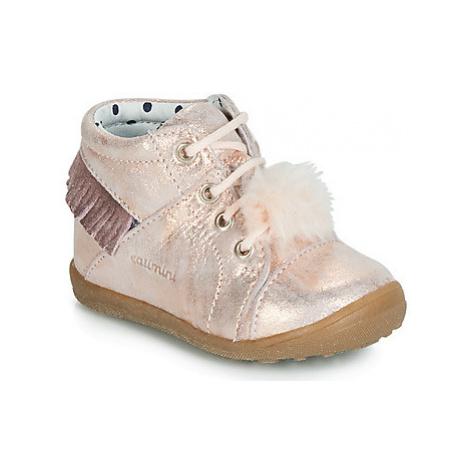 Catimini PEPITA girls's Children's Shoes (High-top Trainers) in Pink