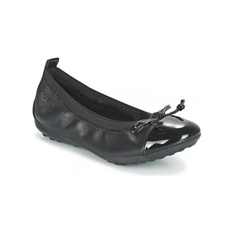 Geox J PIUMA BAL F girls's Children's Shoes (Pumps / Ballerinas) in Black