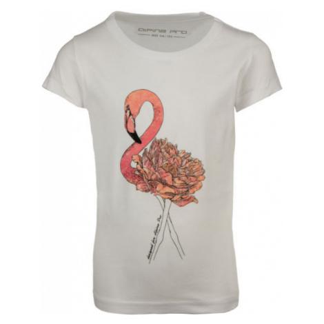 ALPINE PRO IRADO white - Children's T-shirt