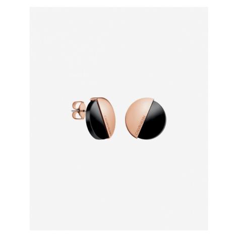 Calvin Klein Earrings Black Beige