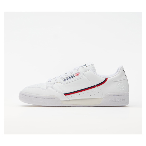 adidas Continental 80 Vegan Ftwr White/ Collegiate Navy/ Scarlet
