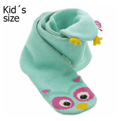 scarf Affenzahn Olivia Owl - Turquoise - kid´s