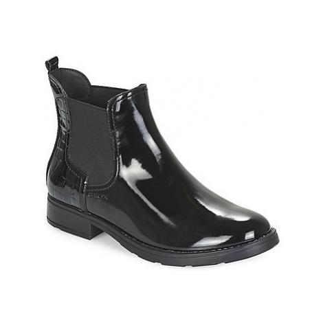 Geox SOFIA girls's Children's Mid Boots in Black