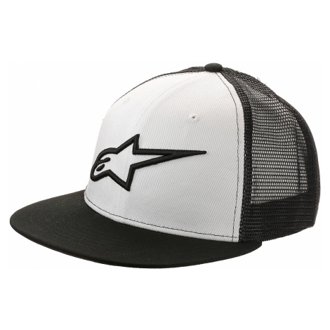 cap Alpinestars Corp Trucker - Black/White - men´s